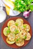 Fried marrow Royalty Free Stock Photos