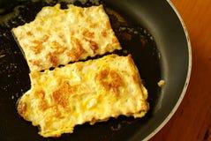 Fried matzah Stock Images
