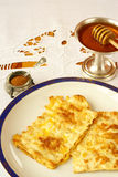 Fried matzah Royalty Free Stock Photo