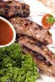 Fried meat Royalty Free Stock Images