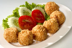 Fried Meat Ball Royalty Free Stock Photo