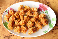 Fried meat ball Stock Photos