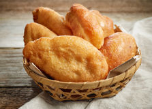 Fried meat pies Stock Image