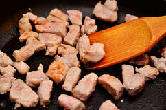Fried meat Royalty Free Stock Photography