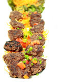 Fried meat for snack Stock Photography