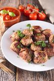 Fried meatball Stock Photography
