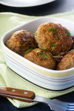 Fried meatballs Royalty Free Stock Photos