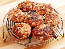 Fried meatballs Royalty Free Stock Photography