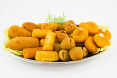 Fried mixed Stock Image