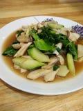 Fried Mixed grönsaker, goda för hälsa Royaltyfri Bild