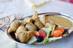 Fried MoMo Dumplings stock photography