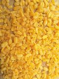 Fried Moong dal background Stock Photo