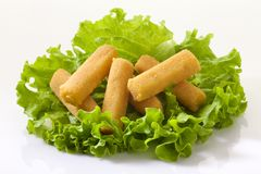 Fried Mozzarella Sticks Royalty Free Stock Image