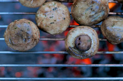 Fried mushrooms Royalty Free Stock Image