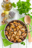 Fried mushrooms Royalty Free Stock Photography