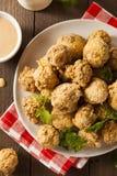 Fried Mushrooms profond fait maison Photos stock