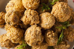 Fried Mushrooms profond fait maison Images stock
