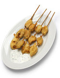 Fried mussels, midye tava, turkish food Royalty Free Stock Photography