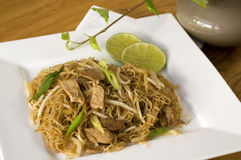 Fried noodle Stock Images