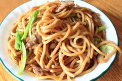 Fried Noodle stock photo