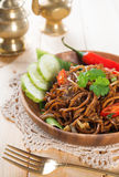 Fried noodle Stock Image