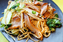 Fried noodle asian Stock Photos