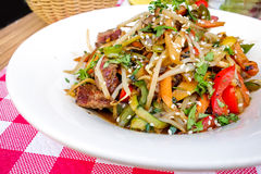 Fried noodle asian food Royalty Free Stock Image