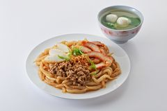 Fried noodle Royalty Free Stock Images