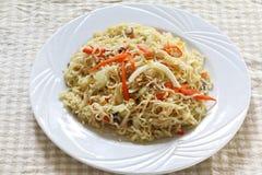 Fried noodle Stock Image