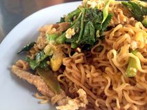 Fried noodle. Thai fastfood delicious stock images