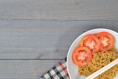 The Fried Noodle Royalty Free Stock Photography