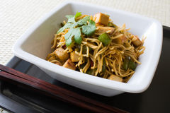 Fried Noodles Stock Photo