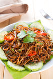 Fried noodles Royalty Free Stock Images