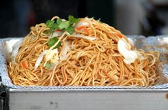 Chinese Fried Noodles Royalty Free Stock Image
