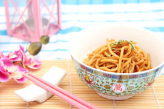 Fried noodles Royalty Free Stock Photos