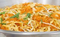 Fried Noodles ou padthai tailandês Foto de Stock