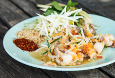 Fried noodles. Is Thai food Stock Photos