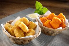 Fried Nugget Royalty Free Stock Images