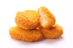 Fried nuggets Stock Photography