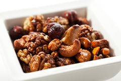 Fried Nuts Stock Image
