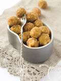 Fried olive Royalty Free Stock Images