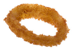 Fried Onion Ring Isolated Stock Photography