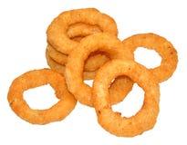 Fried Onion Rings Fotografie Stock Libere da Diritti