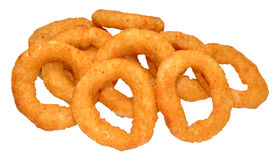 Fried Onion Rings Immagine Stock Libera da Diritti
