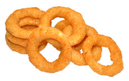 Fried Onion Rings Stock Photo