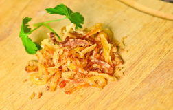 Fried Onions Royalty Free Stock Images