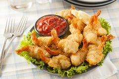 Fried Organic Coconut Shrimp immagine stock