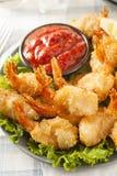 Fried Organic Coconut Shrimp fotografia stock