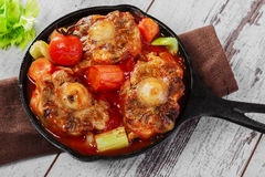 Fried oxtail Stock Image