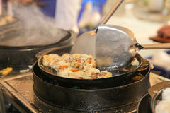 Fried oysters Stock Images